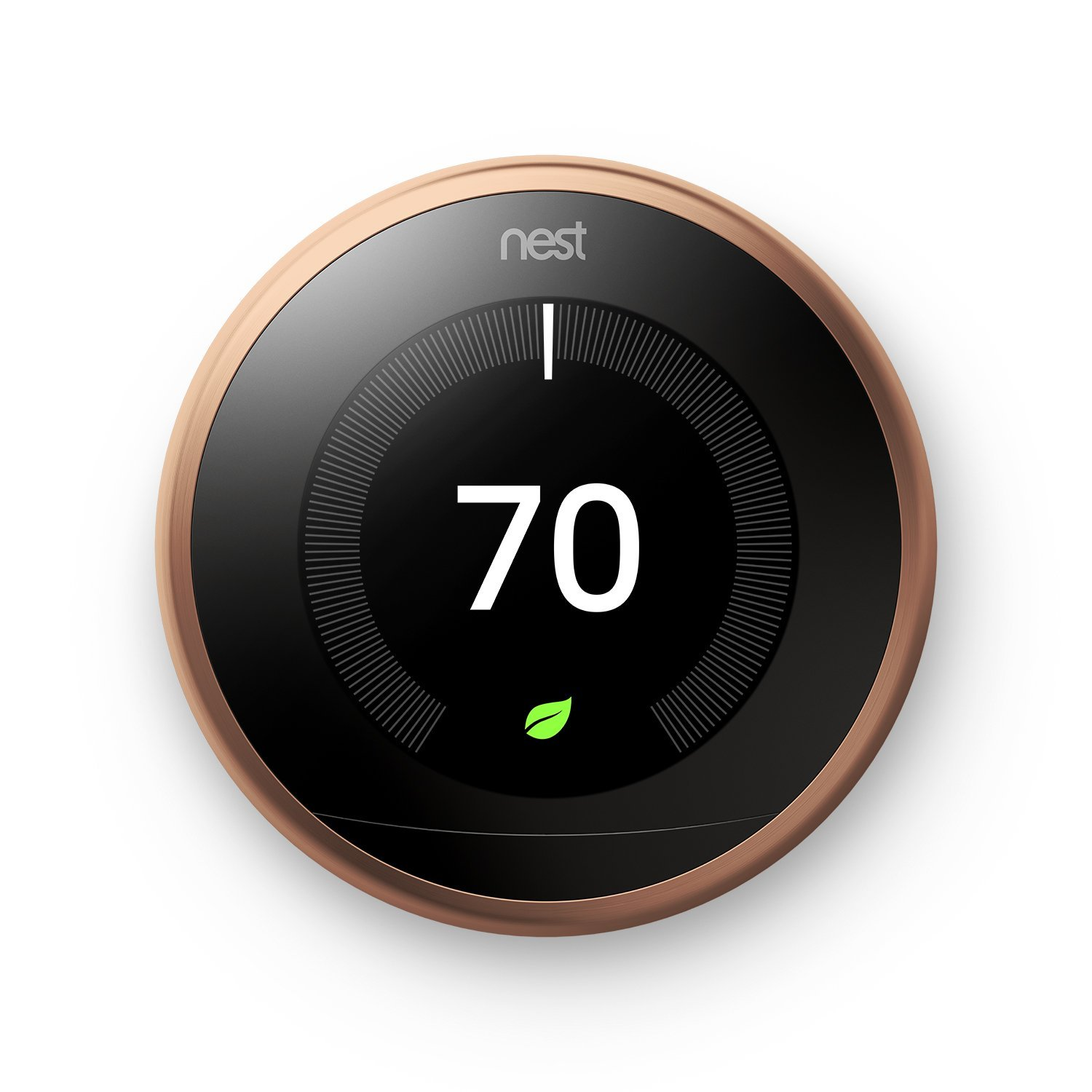 Image for Nest - Learning Thermostat - 3rd Generation - Copper from Circuit City