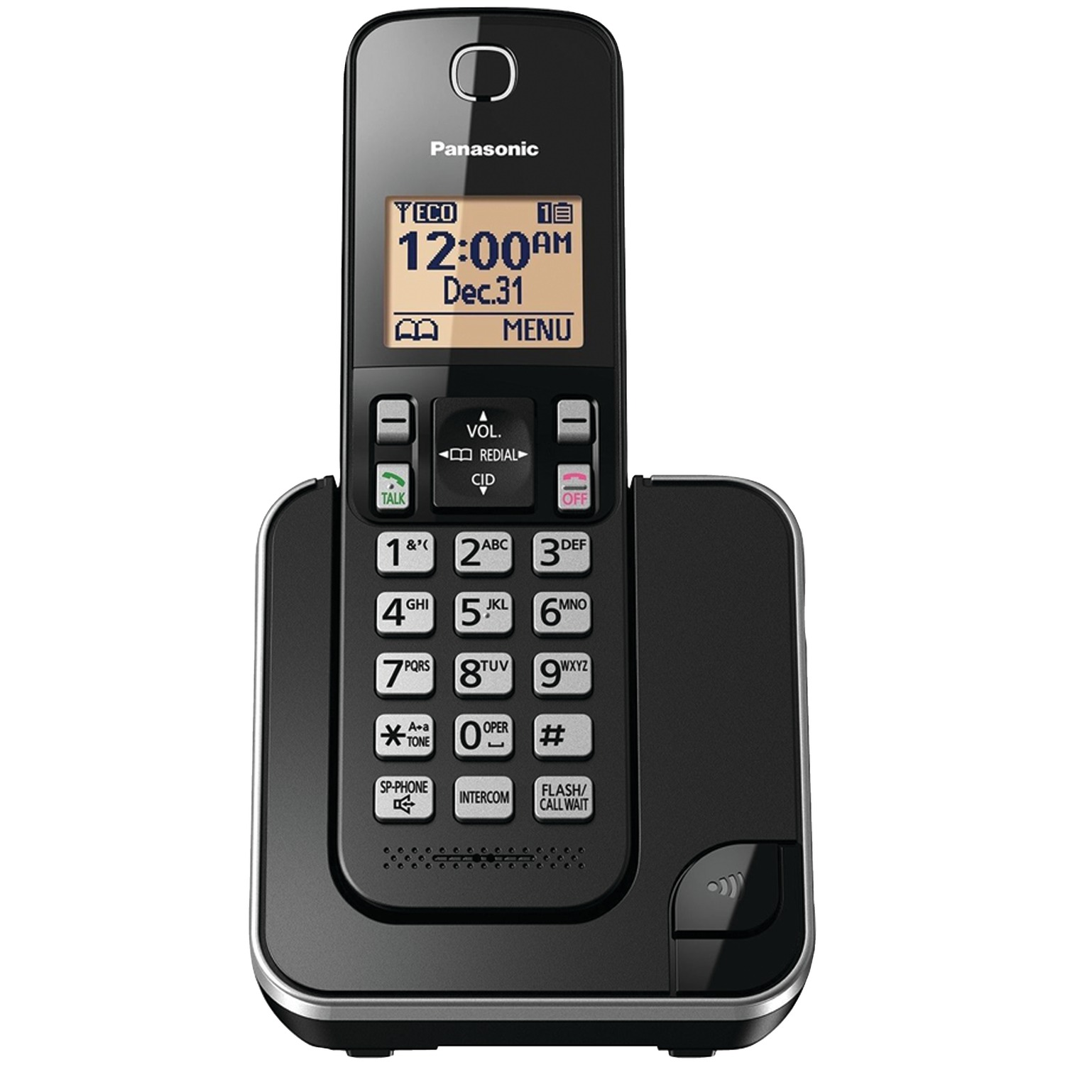 Panasonic Kx Tgc350 Cordless Phone With Caller Id Call Waiting Circuit Image For From