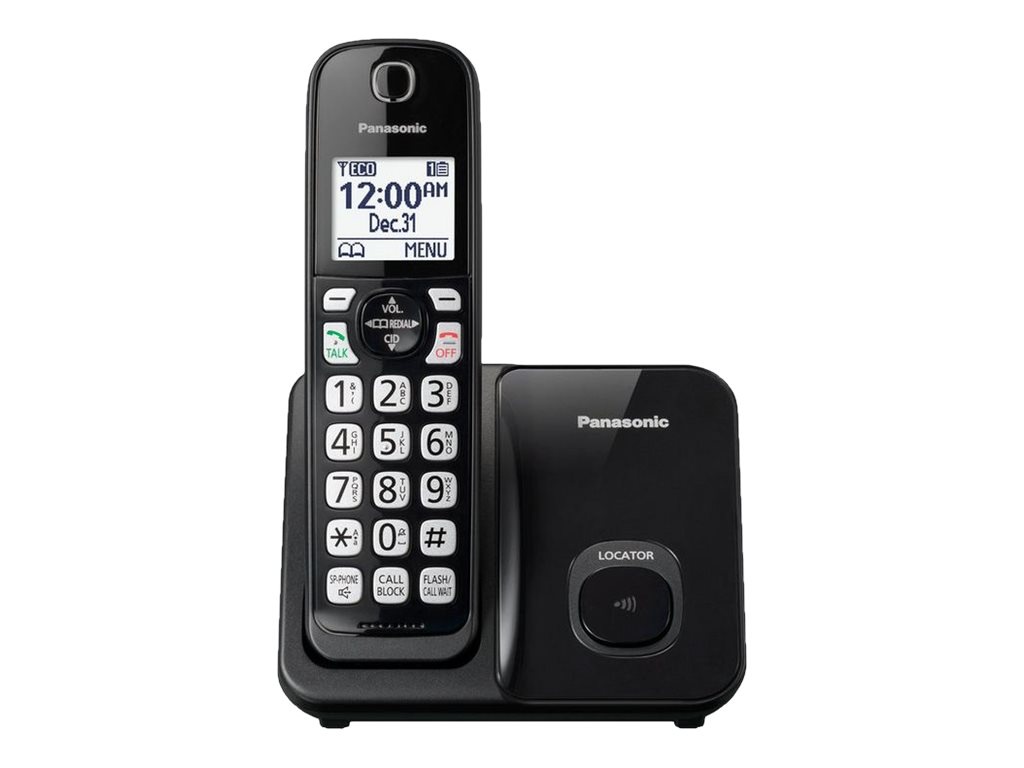 Image for Panasonic Dect 6.0 Plus,1Hs,Talking Cid,150 Call Block,1.6White Lcd,Handset Locat from Circuit City