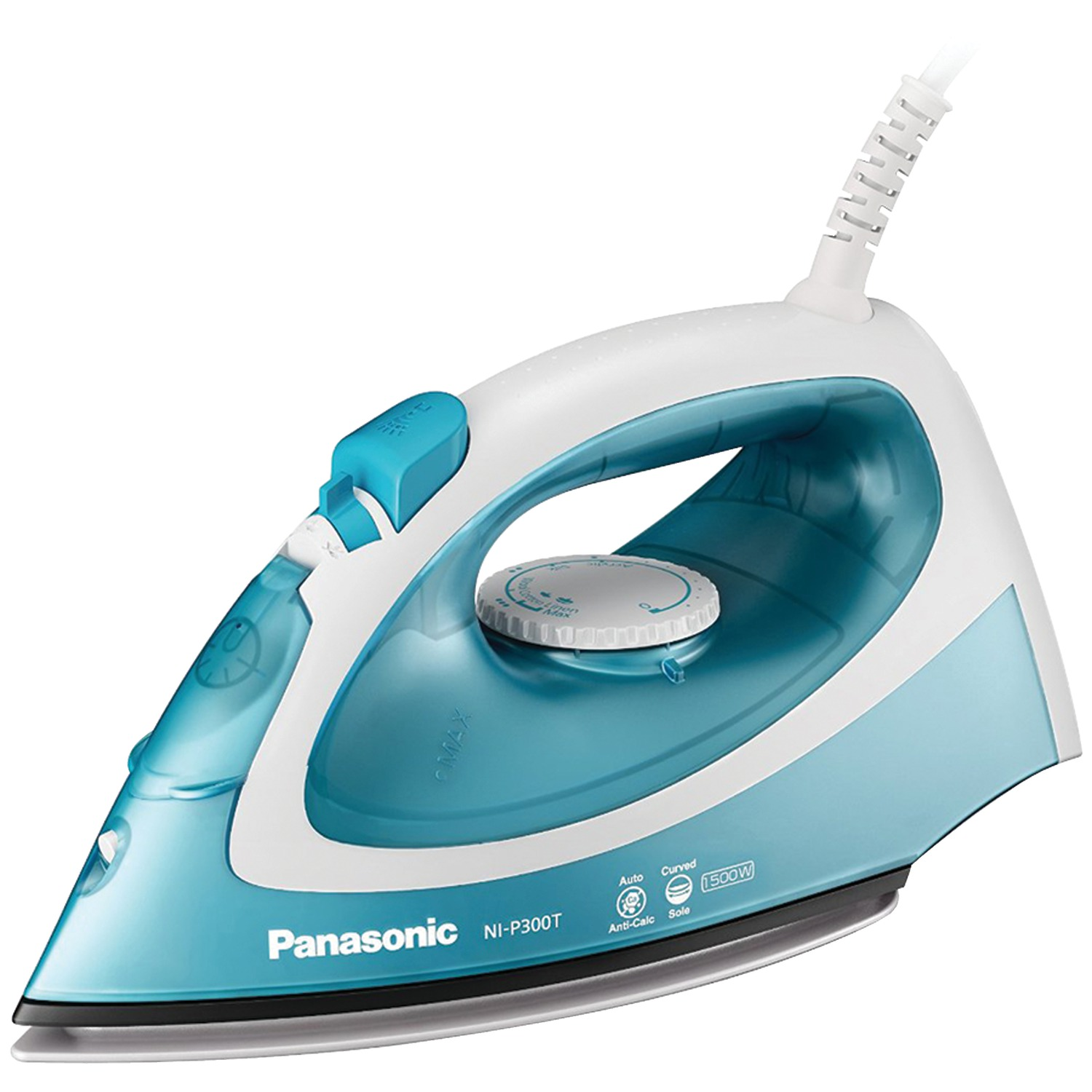 Image for Panasonic Speedy & Easy Ni-P300T - Steam Iron - Sole Plate: Titanium from Circuit City
