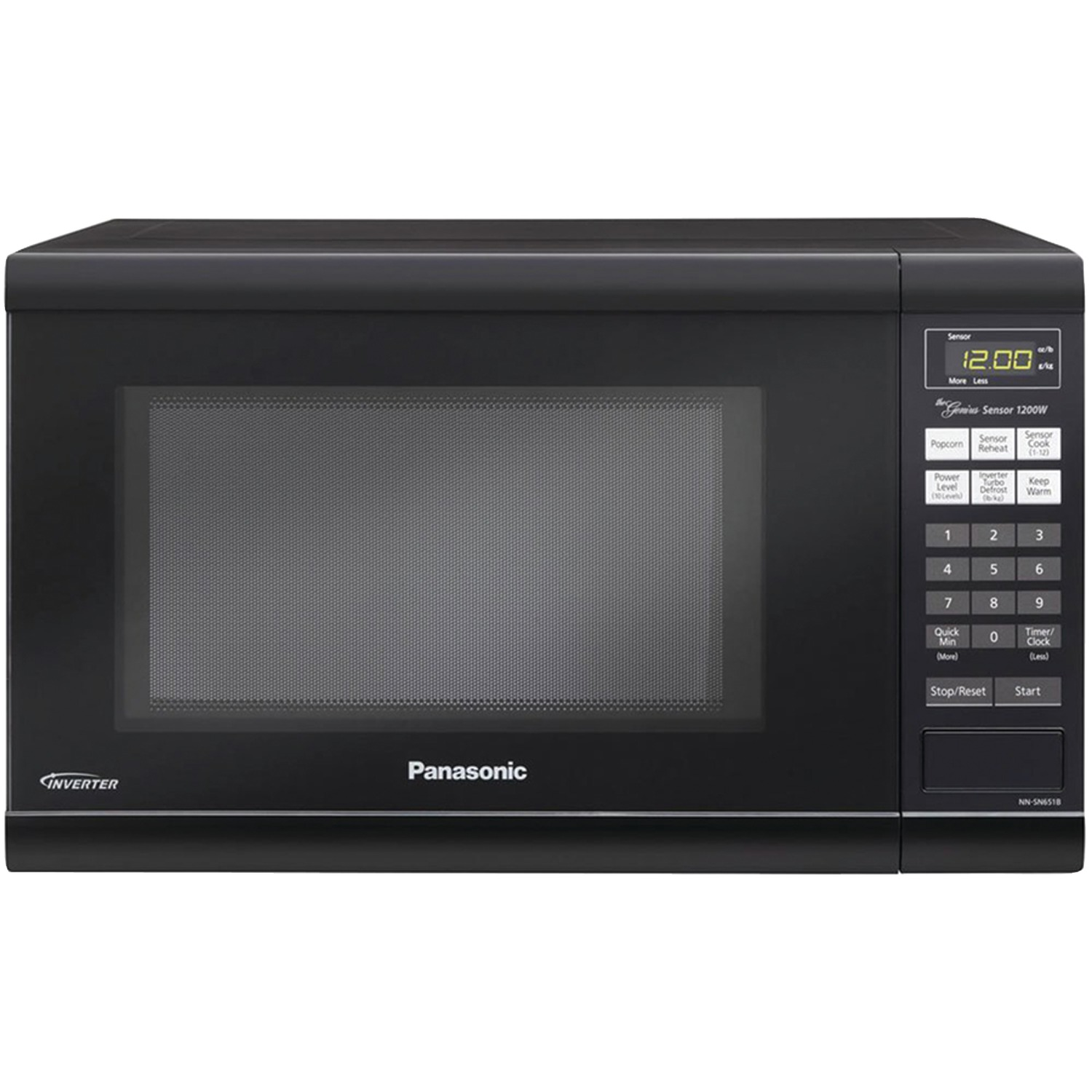 Image for Panasonic 1.2 Cu. Ft. Countertop Microwave Oven With Inverter Technology, Black from Circuit City