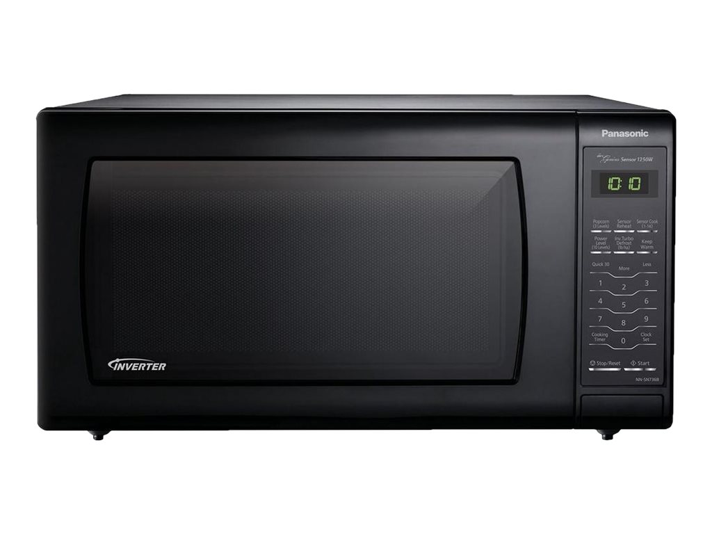 Image for Panasonic 1.6 Cu. Ft. Countertop Microwave Oven With Inverter Technology, Black from Circuit City