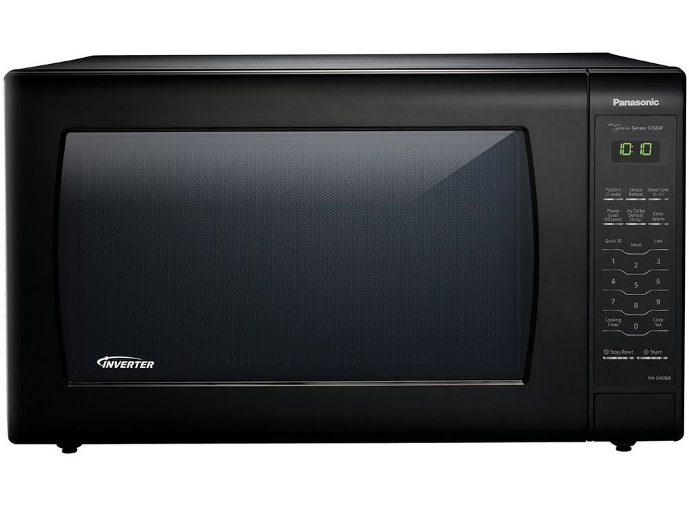 Image for Panasonic 2.2 Cu. Ft. Countertop Microwave Oven With Inverter Technology, Black from Circuit City