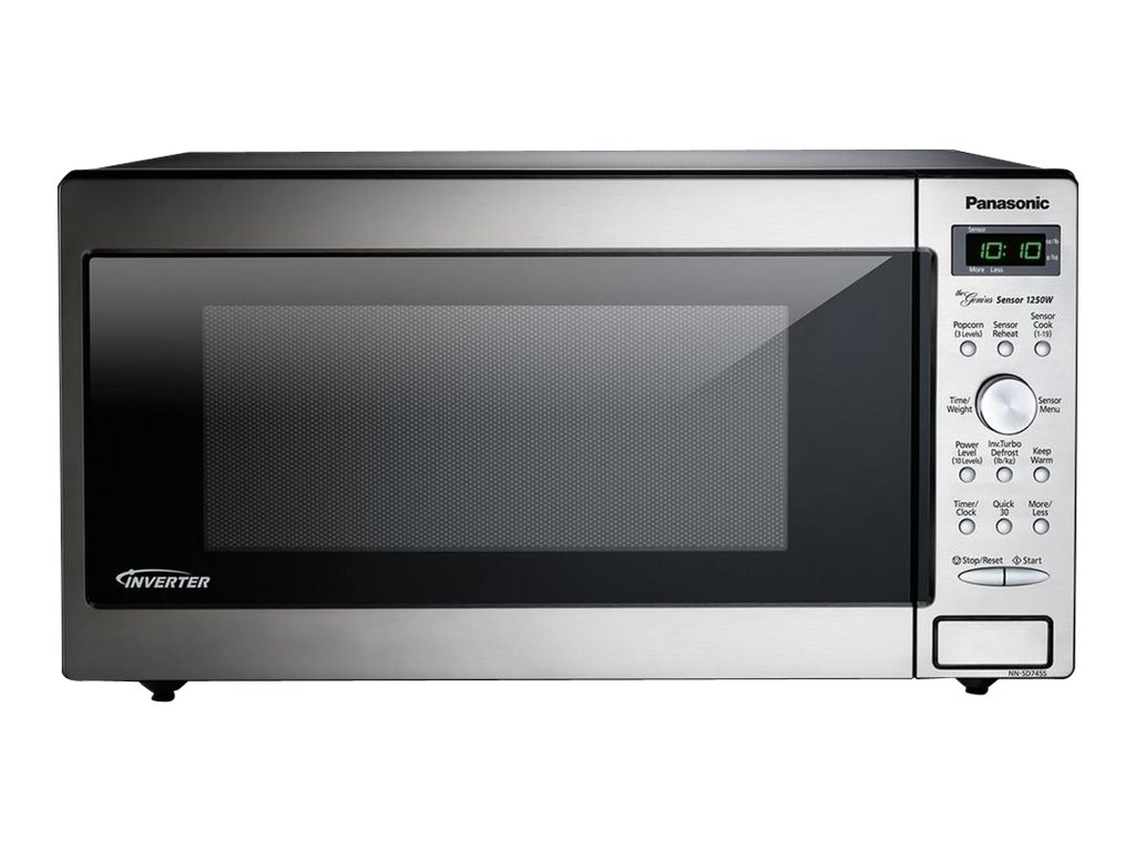 Image for Panasonic - Microwave Oven - Freestanding - Stainless Steel from Circuit City