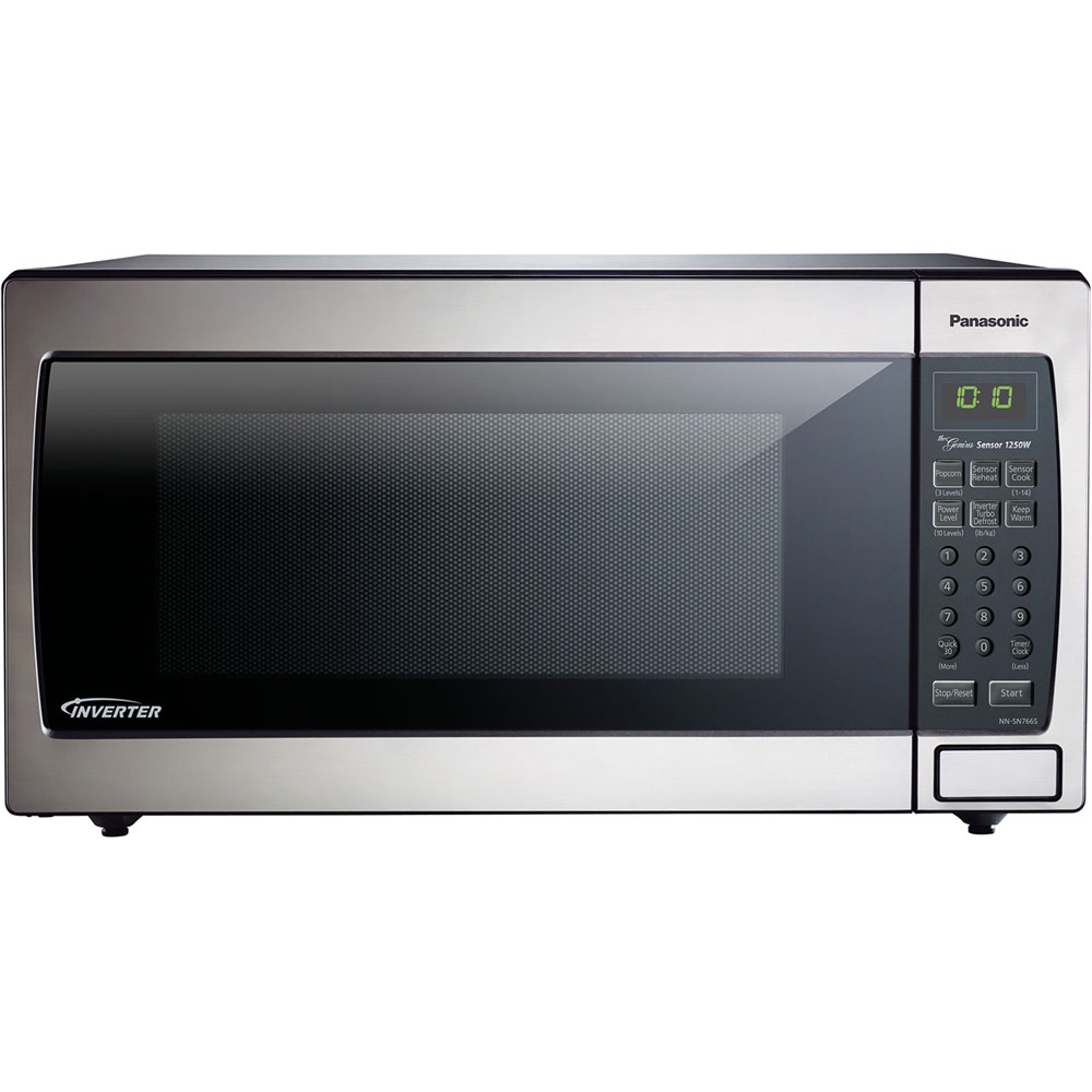 Image for Panasonic 1.6 Cu. Ft. 1250 Watt Microwave, Stainless Steel from Circuit City