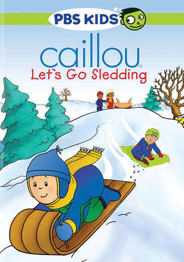 Image for Caillou-Lets Go Sledding (Dvd) from Circuit City
