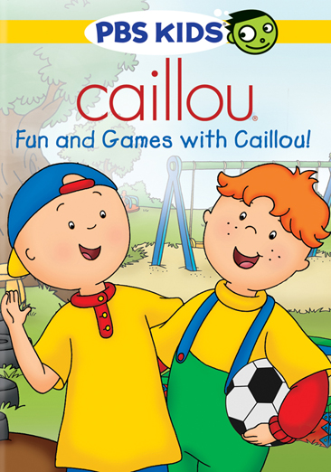 Image for Caillou-Fun & Games With Caillou (Dvd) from Circuit City