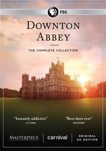 Image for Downton Abbey-Complete Collection (Dvd/22 Disc) from Circuit City