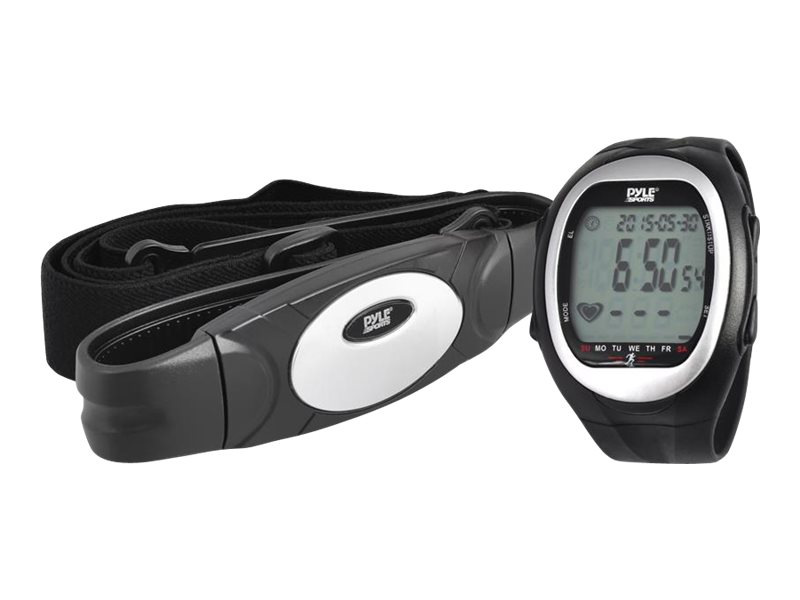 Image for Pyle Activity Tracker Black - Silver - With Heart Rate Monitor from Circuit City