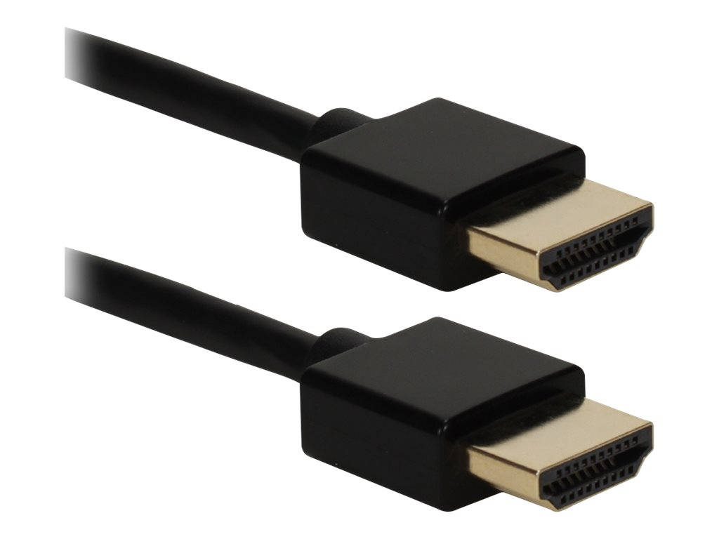 Image for QVS High Speed - HDMI with Ethernet cable - 10 ft from Circuit City