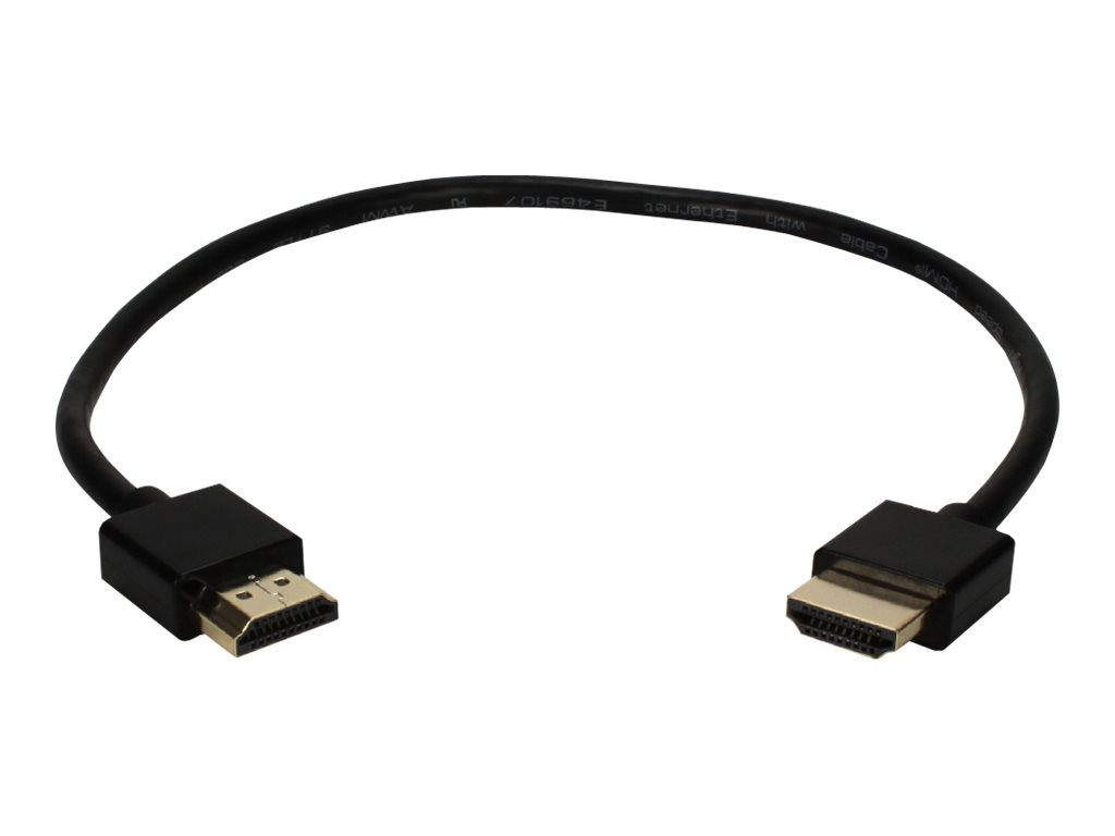 Image for QVS High Speed - HDMI with Ethernet cable - 1.5 ft from Circuit City