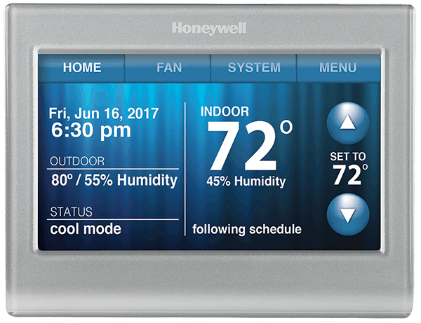 Image for Honeywell Wi-Fi Smart Color Thermostat from Circuit City