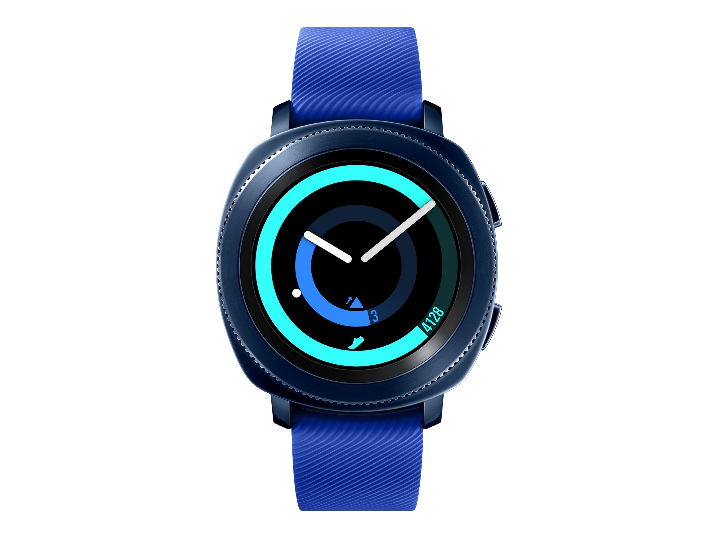 Image for Samsung Gear Sport Sm-R600 - Blue - Smart Watch With Strap - Blue - 4 Gb from Circuit City