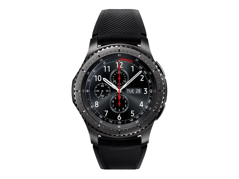 Image for Samsung Gear S3 Frontier - black - smart watch with band - black - 4 GB - AT&T from Circuit City