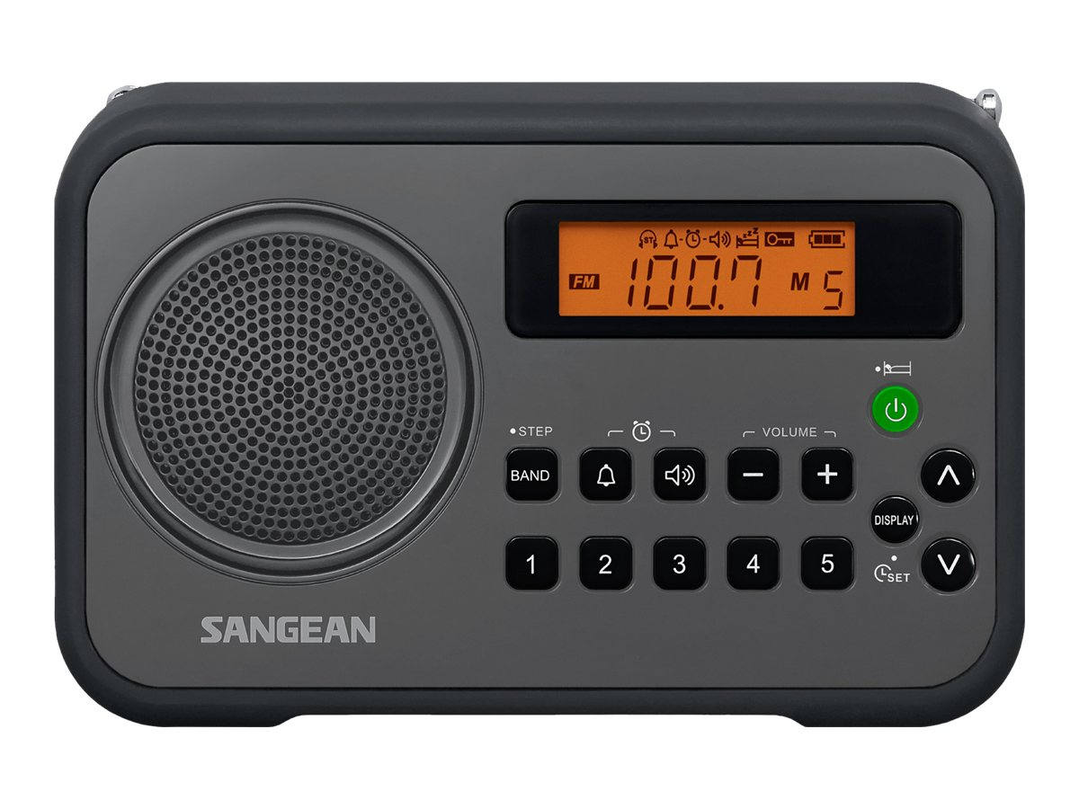 Image for Sangean Fm-Stereo / Am Digital Tuning Portable Receiver - Gray-Black from Circuit City