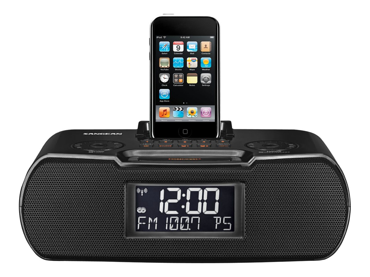 Image for Sangean-Rcr-10 - Clock Radio With Apple Dock Cradle from Circuit City