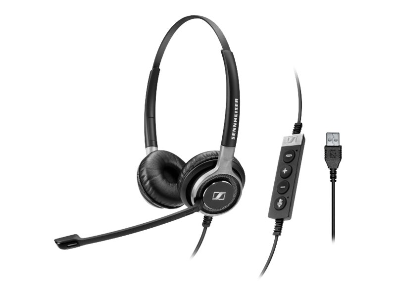 Image for Sennheiser Century SC 660 USB ML - Headset - on-ear - wired from Circuit City