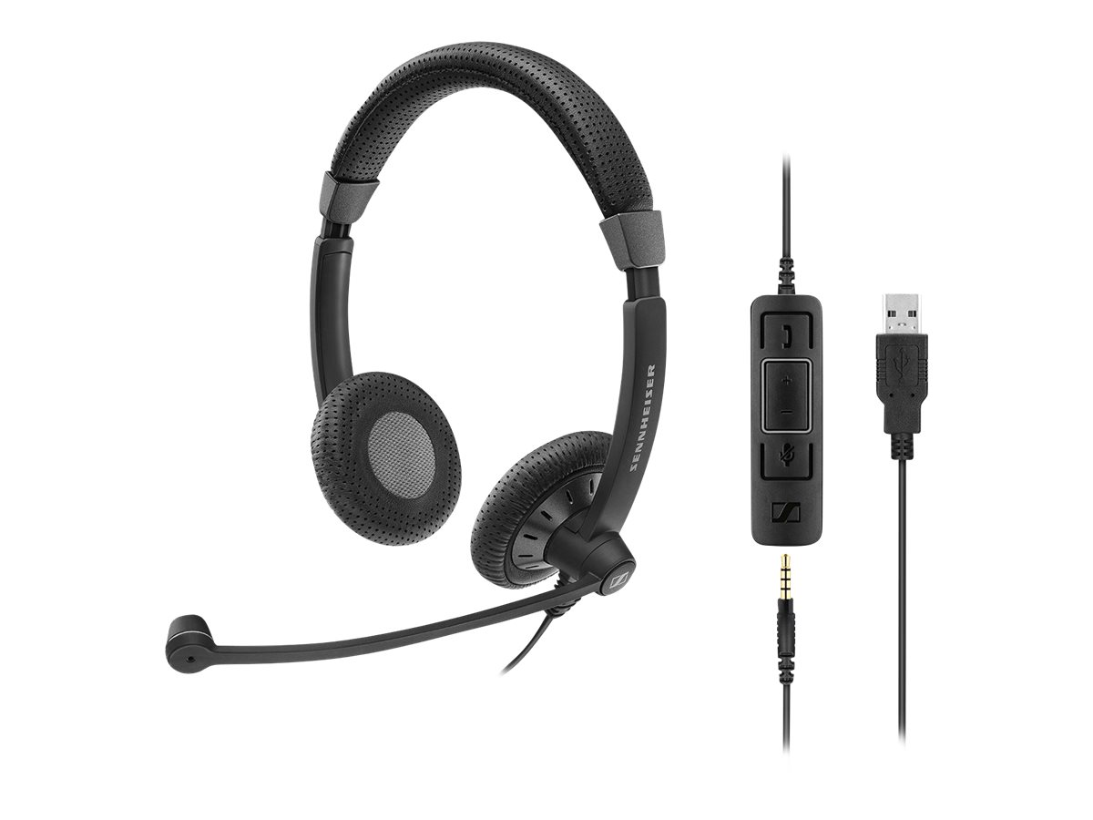 Image for Sennheiser Sc 75 Usb Ms - Headset from Circuit City