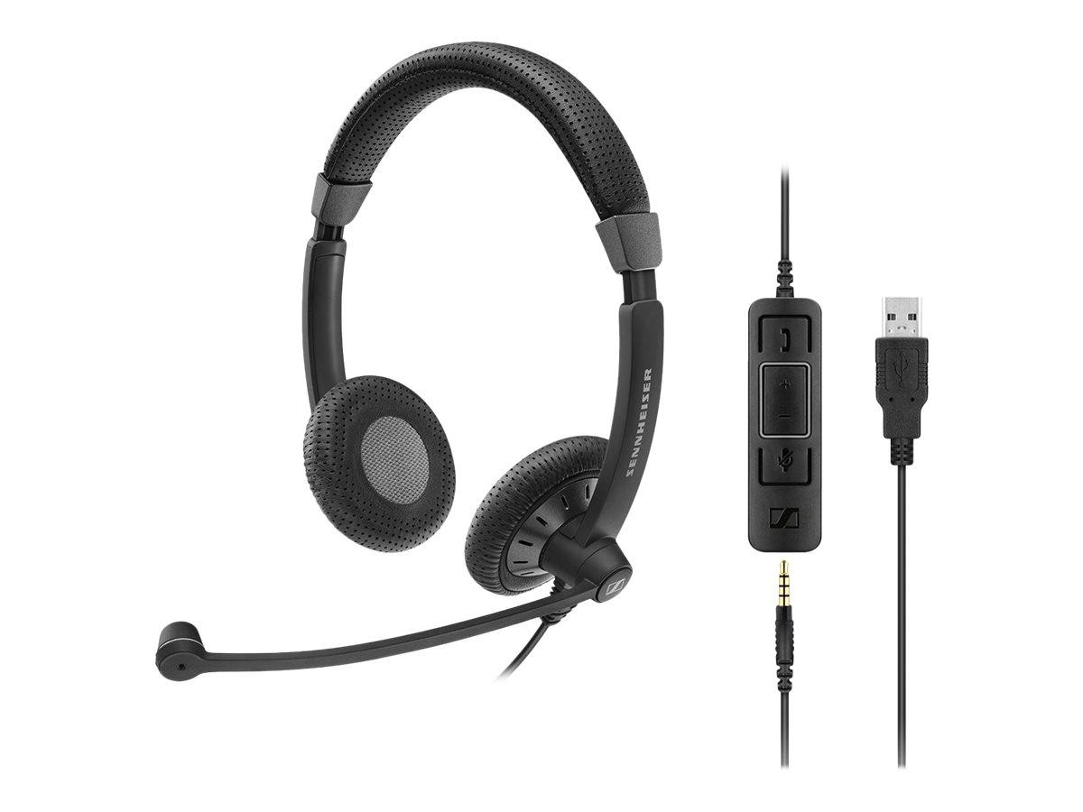 Image for Sennheiser Sc 75 Usb Ctrl Binaural Headset from Circuit City