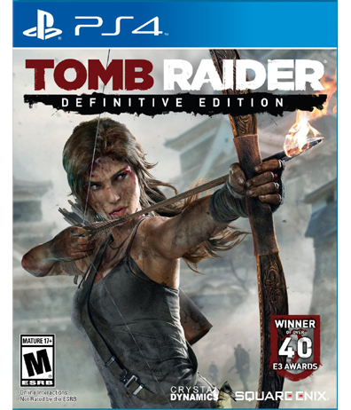 Image for Tomb Raider Definitive Edition Definitive Edition - Sony Playstation 4 from Circuit City