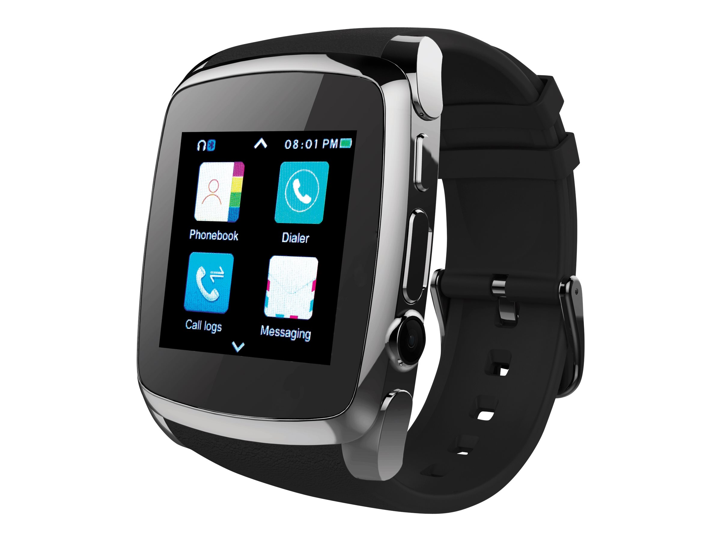 Image for Supersonic Smart Watch - 8 Mb - Black from Circuit City