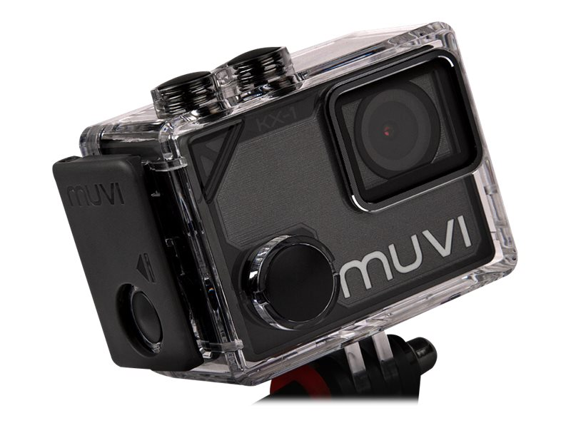 Image for Veho Muvi KX-1 Action Camera | KX-Series | Handsfree Camcorder| WiFi  | 4k Action Cam from Circuit City