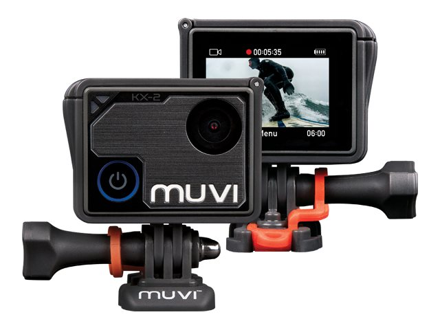 Image for Veho Muvi KX-2 Pro Action Camera | KX-Series | 32GB | 4k | 12MP | 4k30 / 1080p100 | Waterproof from Circuit City