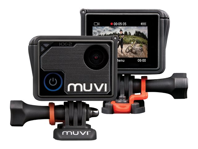 Image for Veho Muvi KX2 PRO Muvi 4K @ 30FPS Actioncam with wifi, WPC and 16GB memory from Circuit City