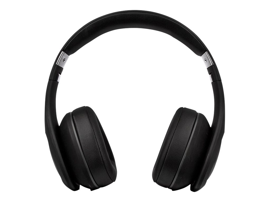 Image for Veho ZB-6 On-Ear Bluetooth Headphones | Wired Option | Rechargeable Wireless Headphone - Black from Circuit City