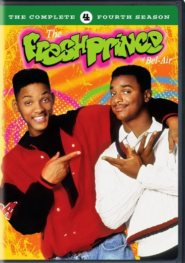 Image for Fresh Prince Of Bel Air-Complete 4Th Season (Dvd/4 Disc/Re-Pkgd) from Circuit City