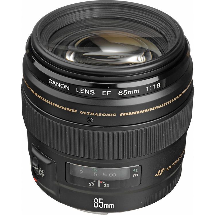 Image for Canon EF telephoto lens - 85 mm from Circuit City