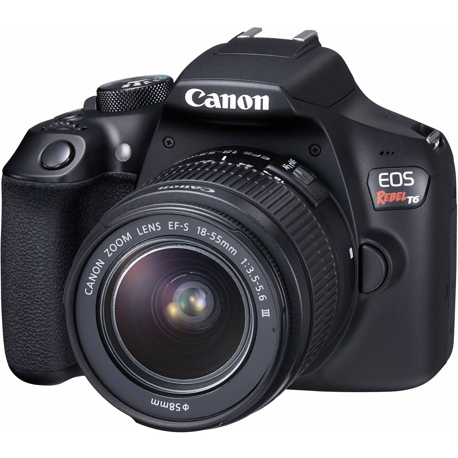 Image for Canon EOS Rebel T6 DSLR Camera with 18-55mm Lens from Circuit City