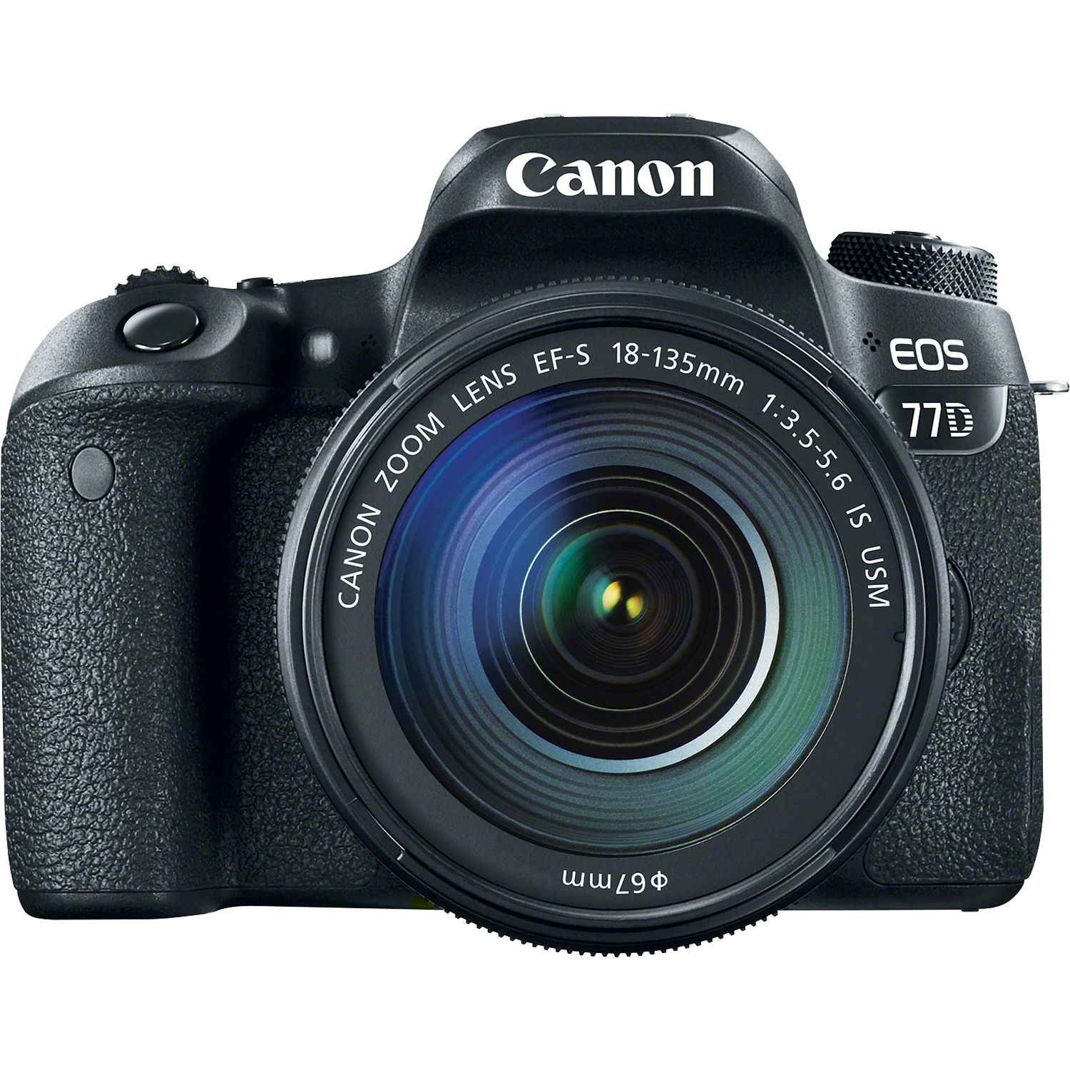 Image for Canon EOS 77D DSLR Camera with 18-135mm USM Lens from Circuit City