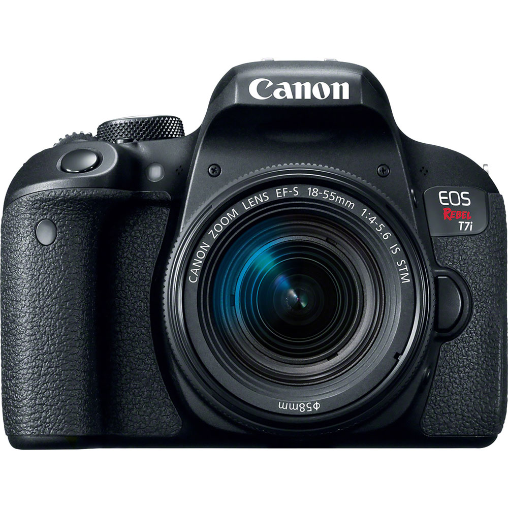 Canon Eos Rebel T7I - Digital Camera Ef-S 18-55Mm Is Stm Lens