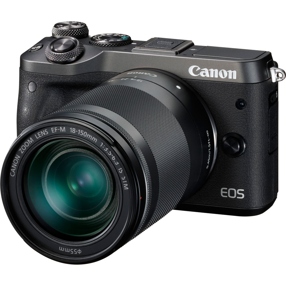Canon Eos M6 - Digital Camera Ef-S 18-150Mm Is Stm Lens
