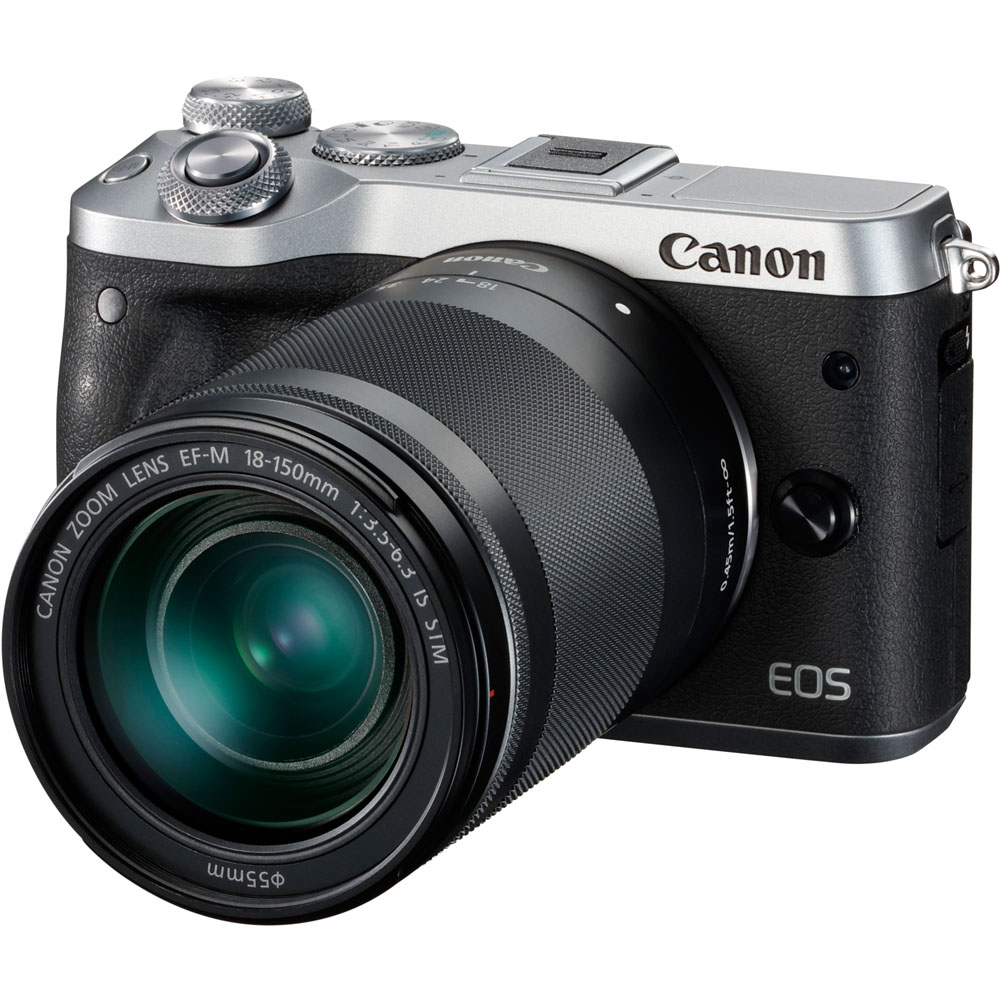 Image for Canon Eos M6 - Digital Camera Ef-S 18-150Mm Is Stm Lens from Circuit City