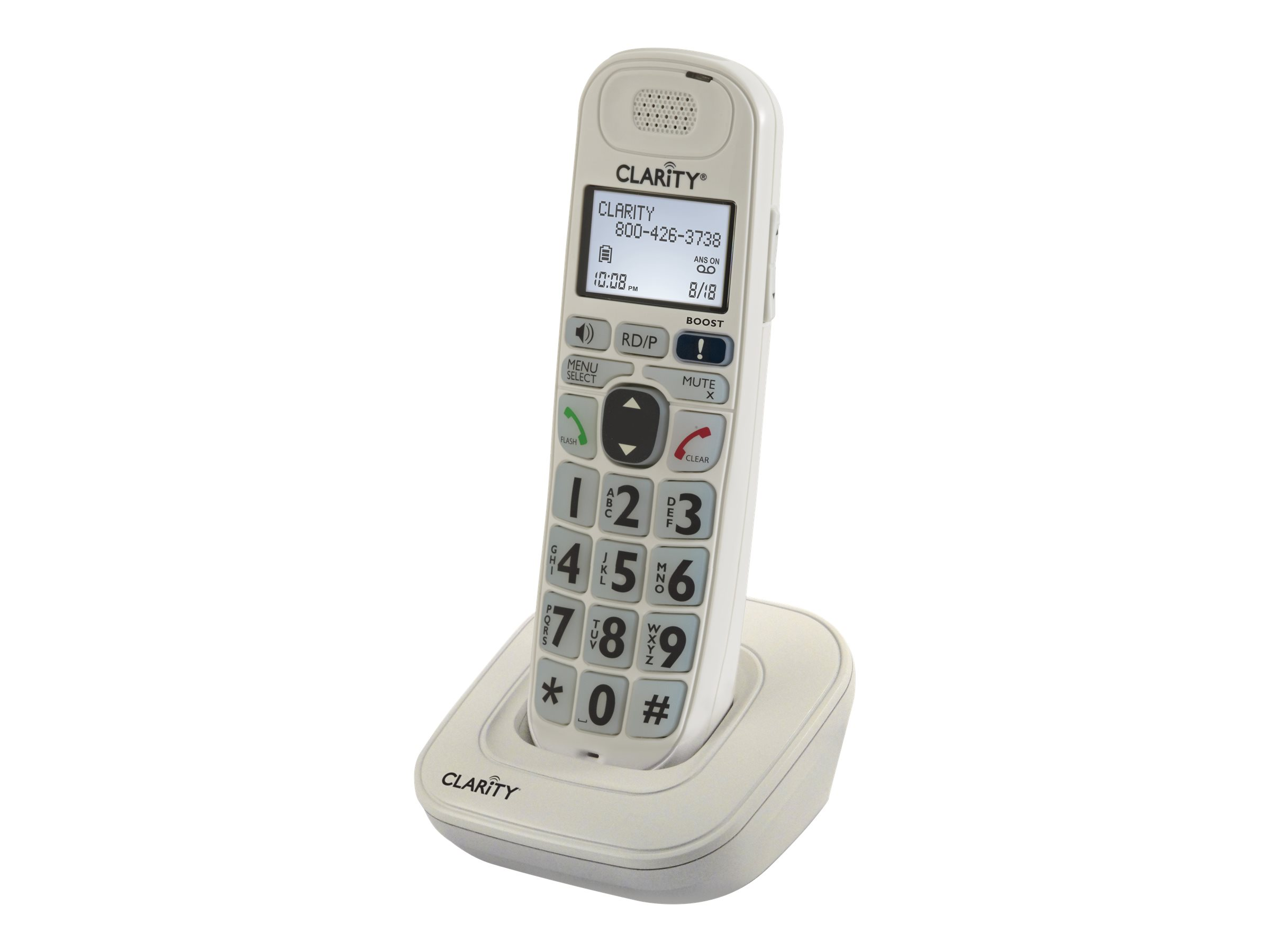 Image for Clarity D704Hs - Cordless Extension Handset With Caller Id from Circuit City