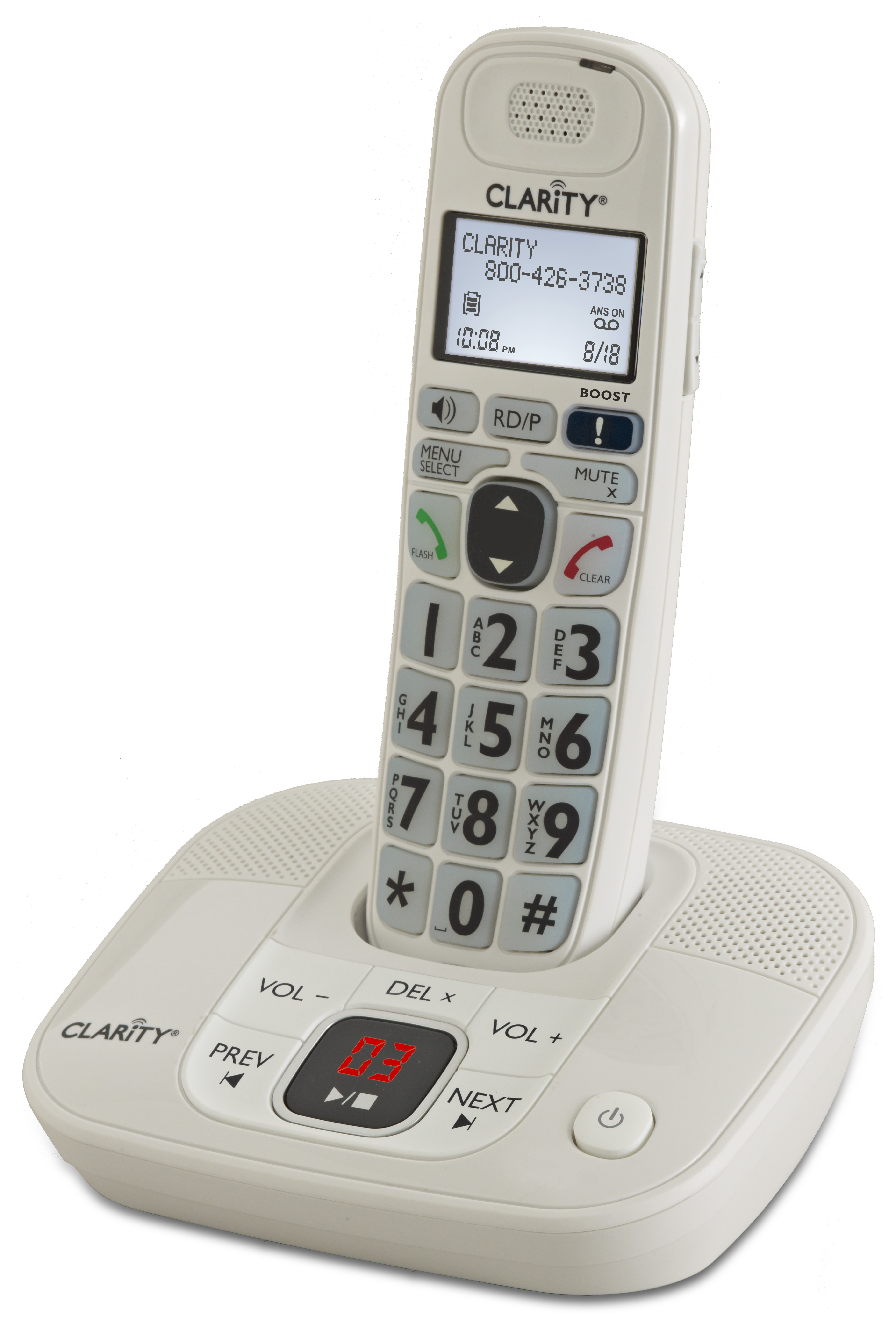 Image for Clarity D714 Amplified Phone With Digital Answering System from Circuit City