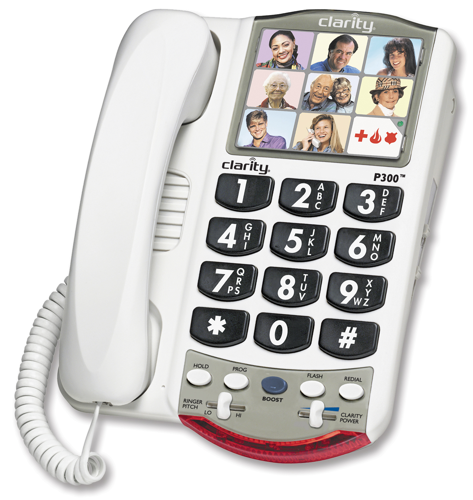 Image for Clarity P300 Handset Landline Telephone from Circuit City