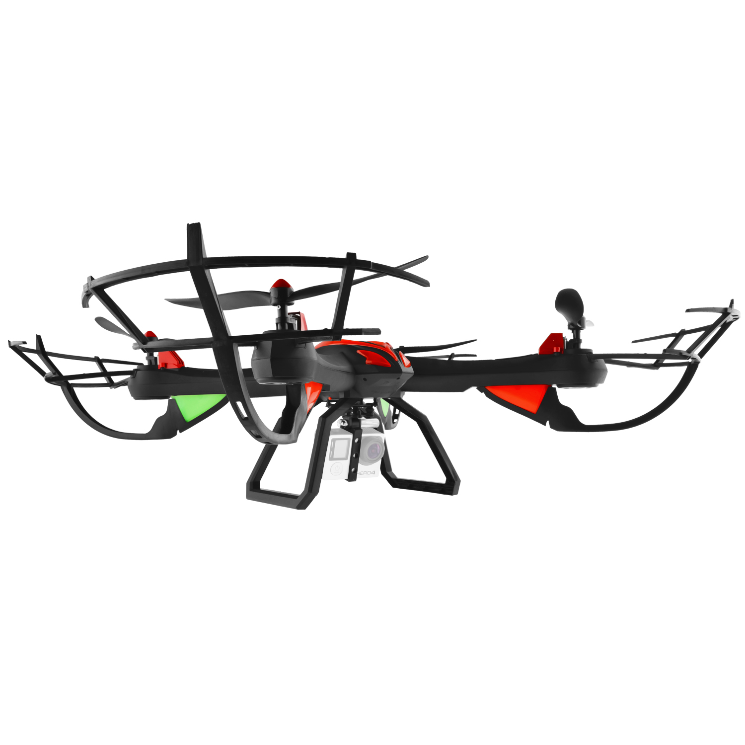 Image for Dynamic Aerial Systems X4 Venom 6 Channel 2.4Ghz Remote Control Quadcopter Drone from Circuit City