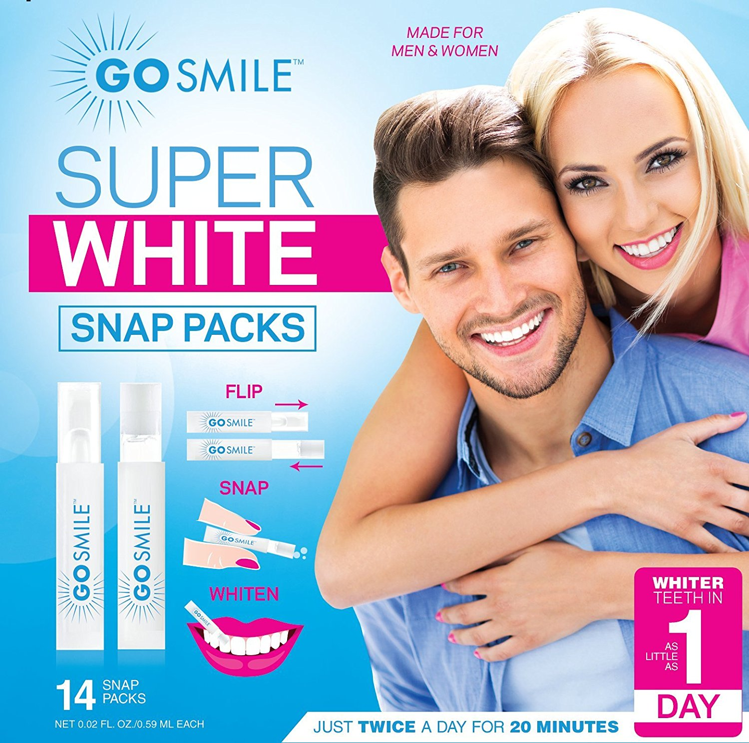 Image for Go Smile Super White Teeth Whitening System Snap Pack Kit from Circuit City