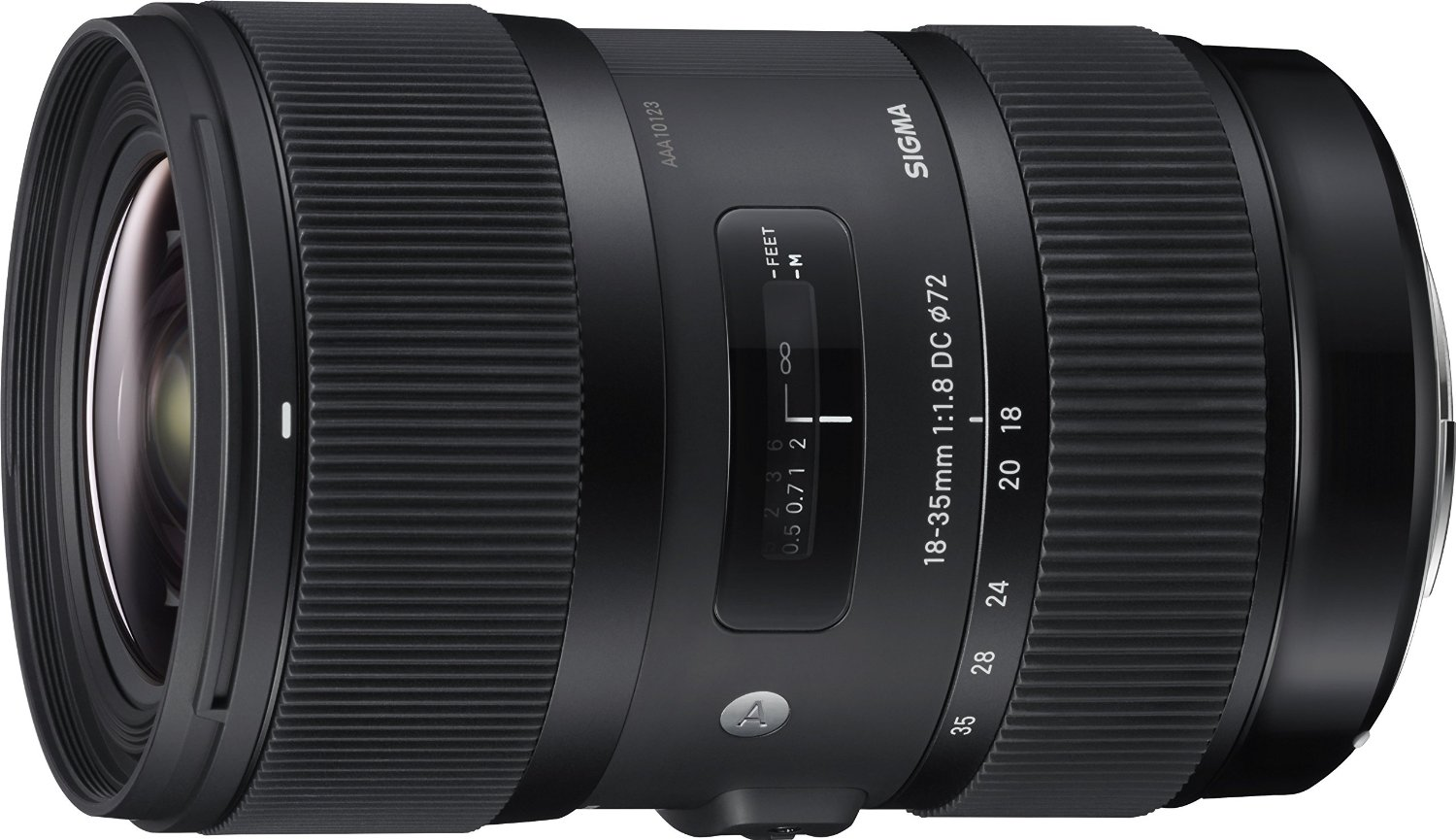 Image for Sigma Art - Wide-angle zoom lens - 18 mm - 35 mm - f/1.8 DC HSM - Sony A-type from Circuit City