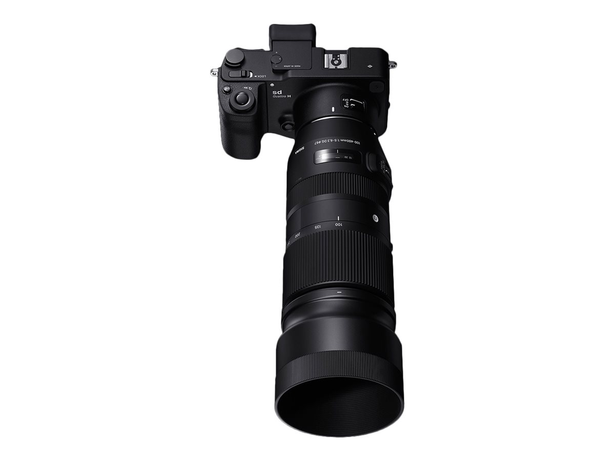 Image for Sigma Contemporary telephoto zoom lens - 100 mm - 400 mm from Circuit City