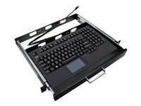 Adesso Easy-Touch - keyboard - with touchpad - US