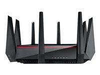 ASUS RT-AC5300 - wireless router - 802.11a/b/g/n/ac - desktop