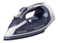 BLACK+DECKER Xpress Steam - steam iron - sole plate: TrueGlide