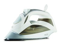 Brentwood MPI-90 - steam iron - sole plate: stainless steel