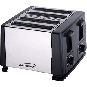 Brentwood TS-284 4 SLICE TOASTER BLK