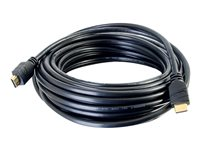 C2G 35ft Active High Speed HDMI Cable In-Wall, CL3-Rated - HDMI cable - 35 ft