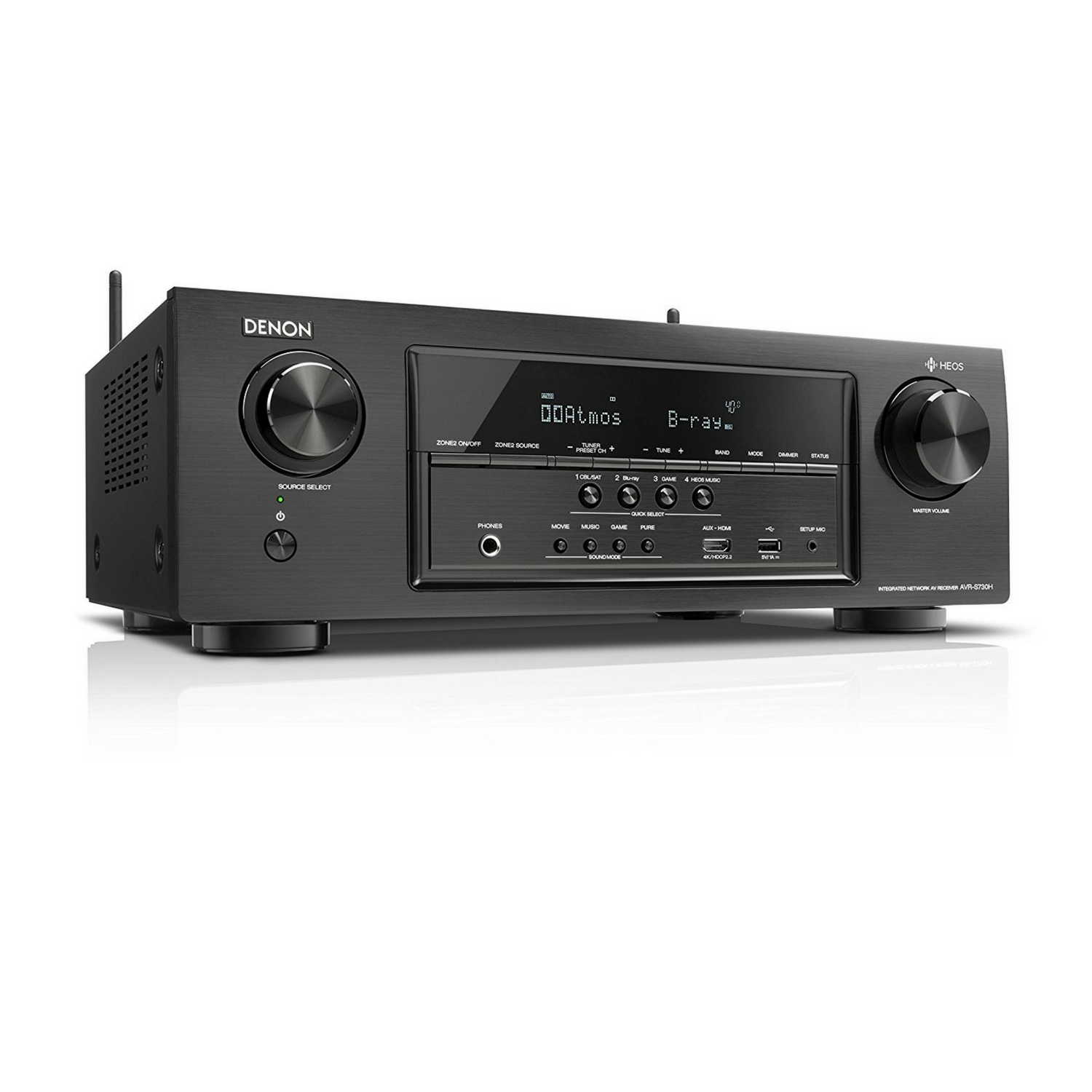 Denon 7.2 Channel AV Receiver with Built-in HEOS wireless technology